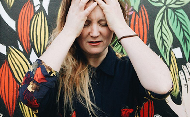 Writer and performer Hollie McNish.