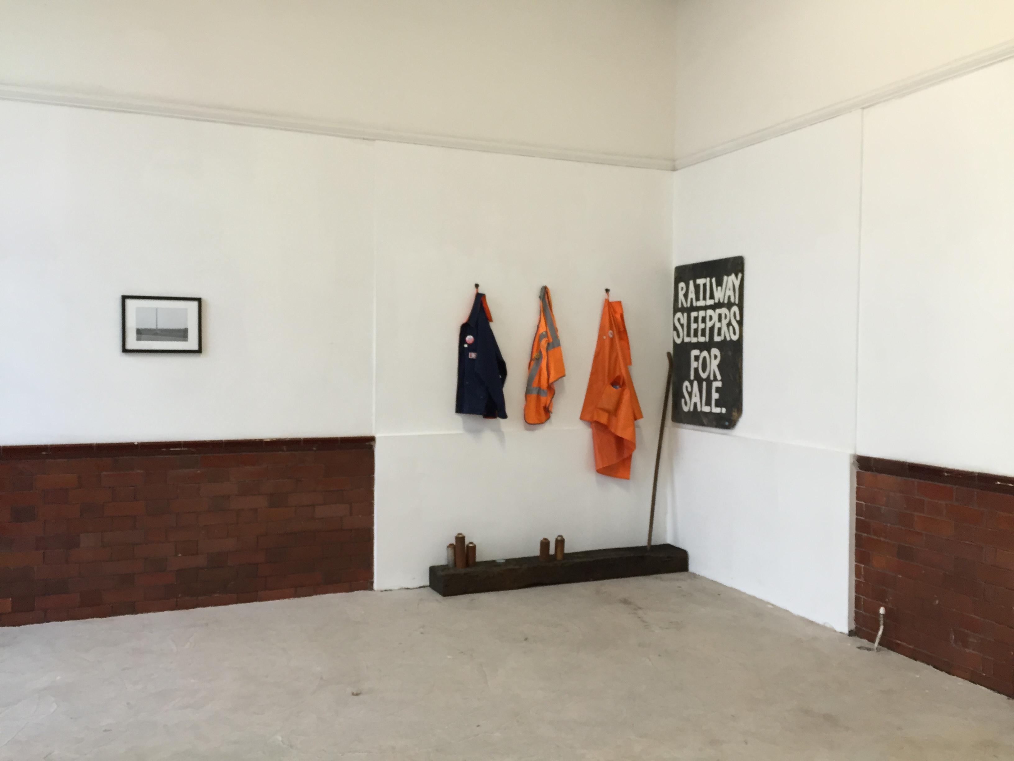 Art exhibition in Victoria Station
