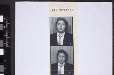 Jeff Nuttall in a photobooth