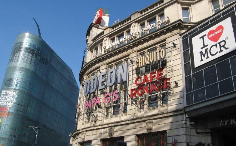 Odeon Printworks cinema in Manchester