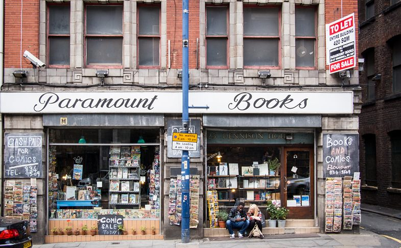 Paramount Books book shop in Manchester