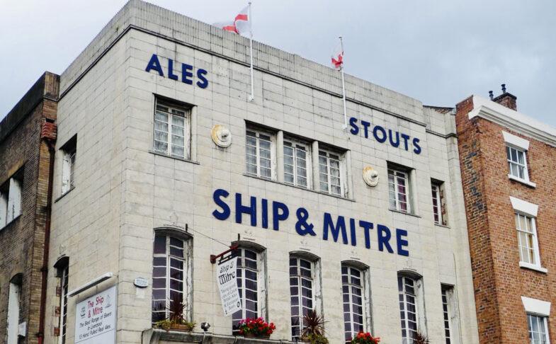 SHIP & MITRE