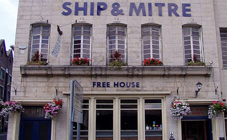 Ship and Mitre pub in Liverpool