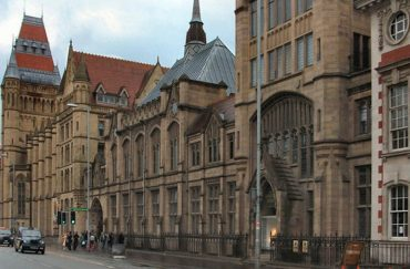 The Manchester Museum on Oxford Road Manchester