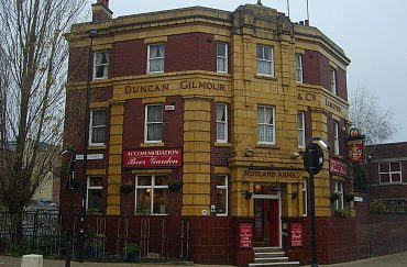The Rutland Arms pub in Sheffield