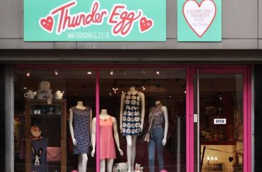 Thunder Egg shop in Manchester