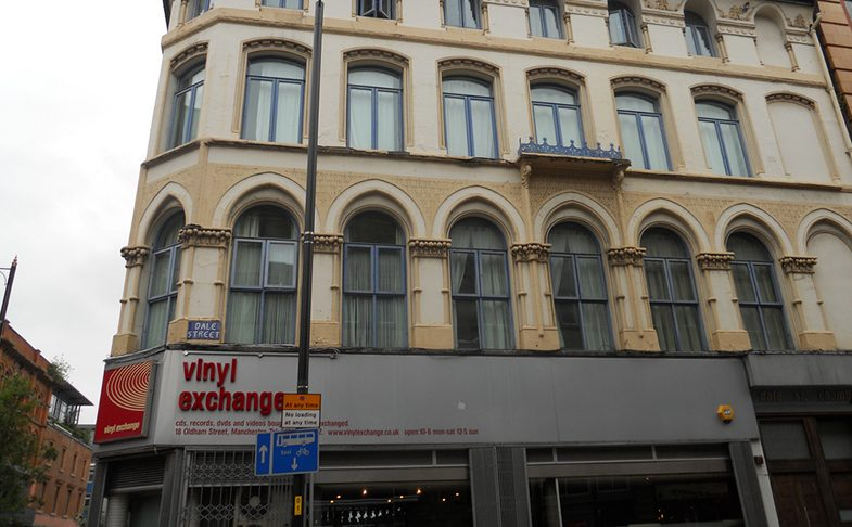 Vinyl Exchange shop in Manchester