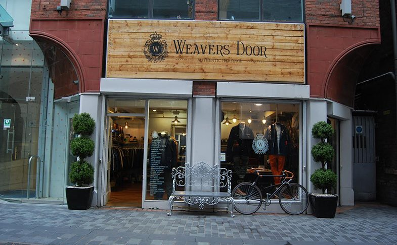Weaver's Door shop in Liverpool