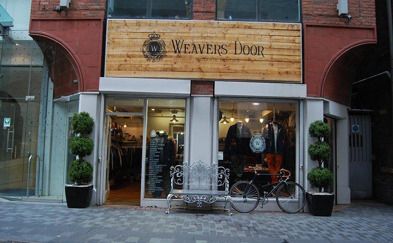 Weaver's Door shop in Liverpool
