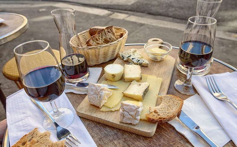 Cheese and Win platter by Cheese Hamlet