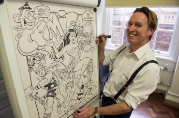 Family Reading Day & Comic Art Masterclass