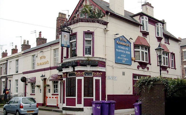 Peter Kavanagh's pub in Liverpool.