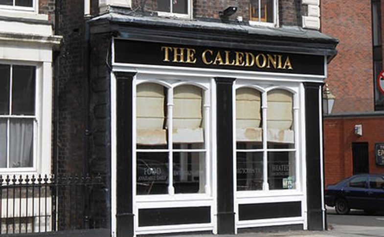 The Caledonia pub in Liverpool