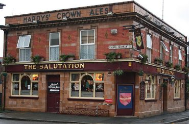 The Salutation pub in Manchester