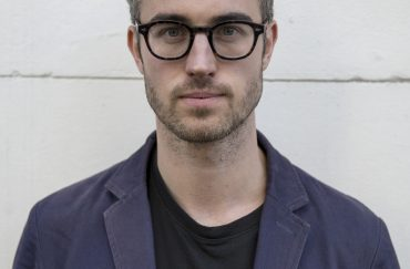 Writer Adam O'Riordan. Photo by George Chevalier Lewis.