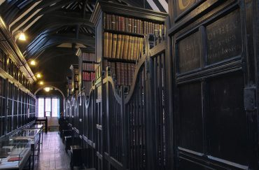 Chetham's Library in Long Millgate in Manchester
