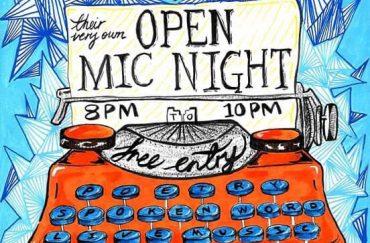 AMP presents open mic night