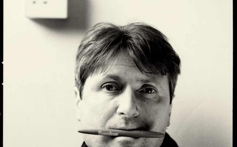 Writer Simon Armitage. Credit Paul Wolfgang Webster