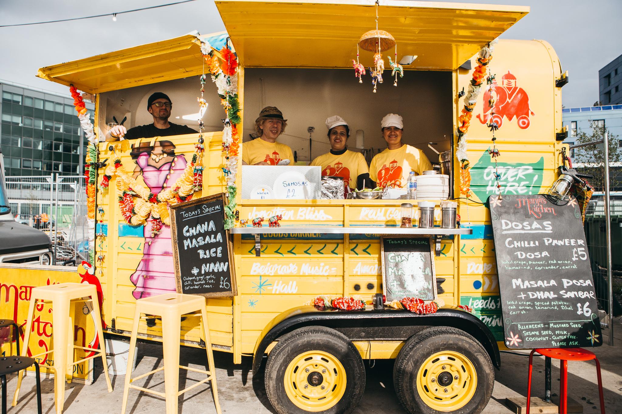 Indian Street Food In Leeds
