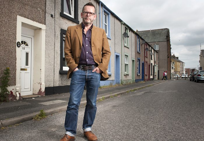 Author David Gaffney. Credit Phil Rigby (Cumbria Life).
