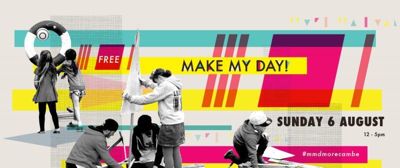 Make My Day! on Morecambe Promenade