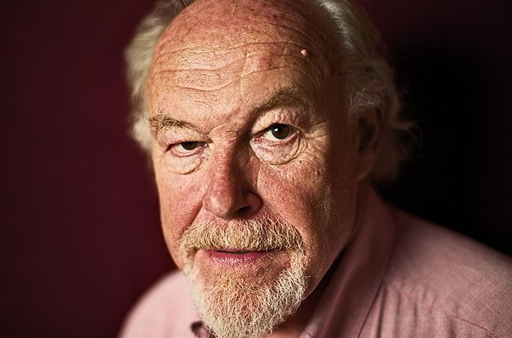 Actor Timothy West reads poetry at Stoller Hall during Manchester Literature Festival.