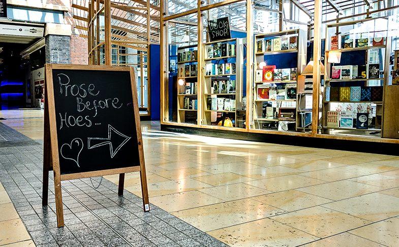 Bookshops in Manchester