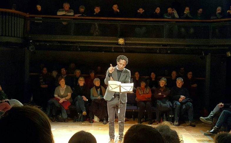 Poet Lemn Sissay.