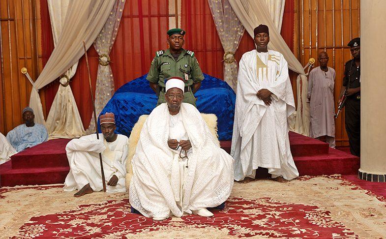 George Osodi, Nigerian Monarchs (HRH Shehu of Borno Empire Abubakar Umar Garbai El Kanemi), 2016. Liverpool Biennial 2018, international festival of contemporary art
