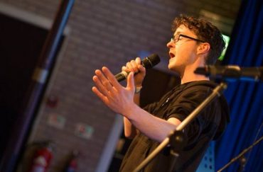 Word War Four compère Kieren King.