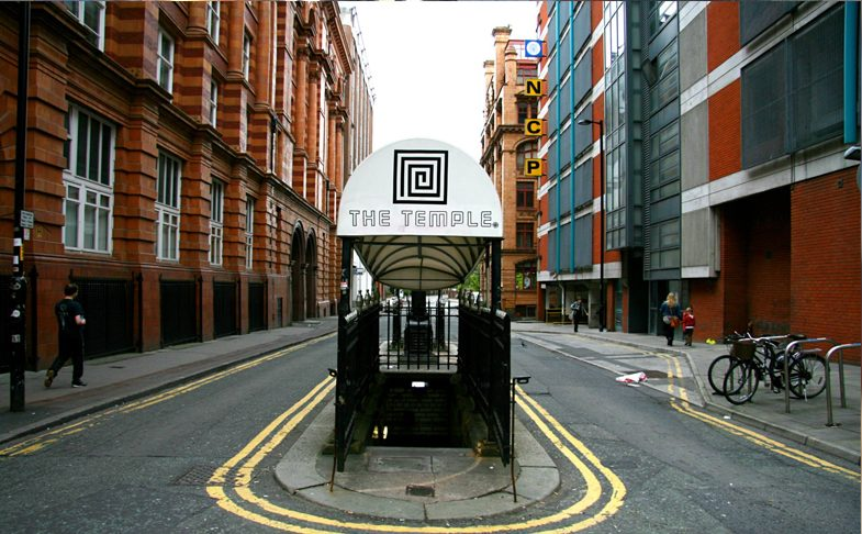 temple bar manchester underground bar