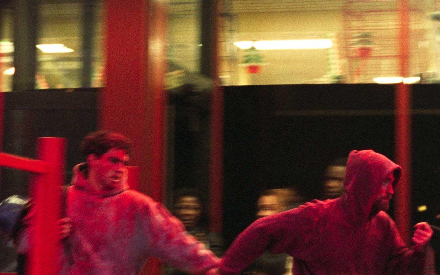 Ben Safdie and Robert Pattinson in Good Time