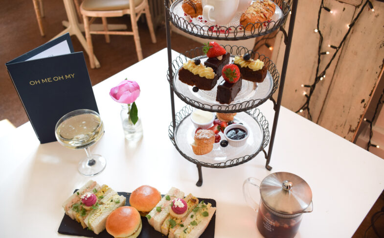 Afternoon tea at Oh Me Oh My