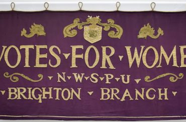 Annual Banner Changeover 2018, courtesy of the People's History Museum