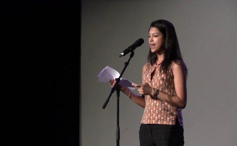 Nisha Ramayya, poet.