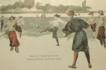 Unlocking the Hidden History of Women's Football, courtesy of the National Football Museum, part of Wonder Women 2018