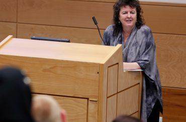 Poet Laureate Carol Ann Duffy.