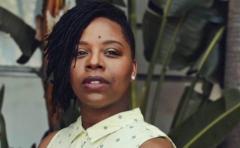 Writer Patrisse Khan-Cullers.