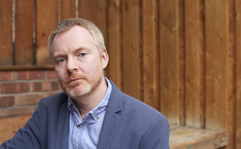 Writer Neil Campbell. Photo by Gwen Riley Jones