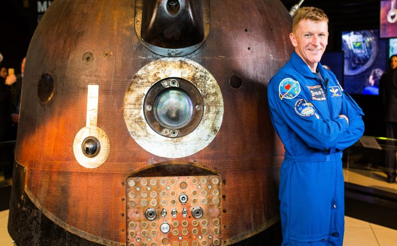 Soyuz TMA-19M: Tim Peake's Spacecraft at the Museum of Science And Industry