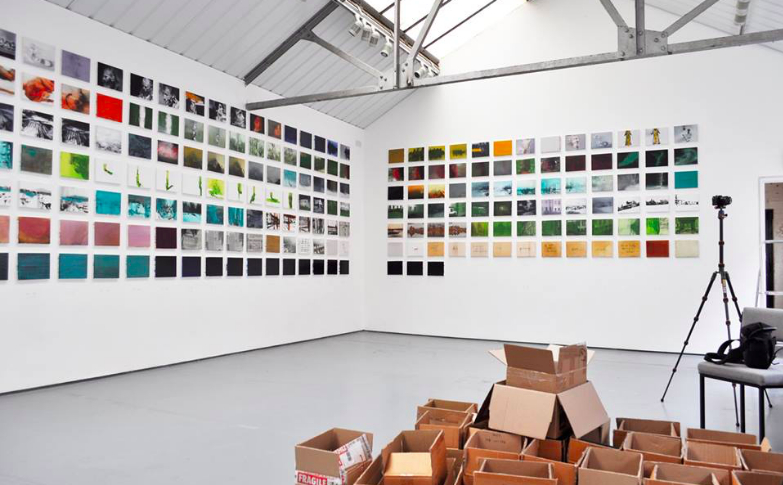 Bloc Projects in Sheffield - Open Residency: Duncan Higgins at Bloc Projects
