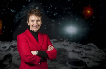 Astronaut Helen Sharman speaks at the Waterfront Museum, Swansea, South Wales. PIC Matthew Horwood © WALES NEWS SERVICE Astronaut wanted, no experience necessary at Leeds International Festival