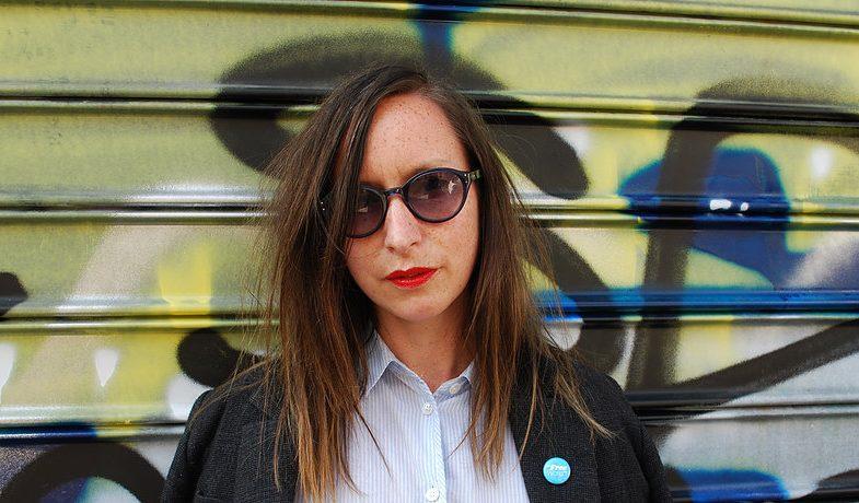 Joanna Walsh. Photo by Lauren Elkin.