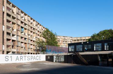 S1 Artspace, Park Hill, Sheffield. Photograph by Reuben James Brown