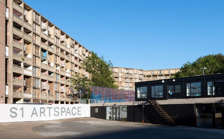S1 Artspace, Park Hill, Sheffield. Photograph by Reuben James Brown