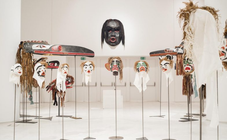 Native Economies: From the Potlatch Ban to the Masks of Beau Dick – Candice Hopkins at LJMU Exhibition Research Lab, Liverpool. Part of Liverpool Biennial 2018