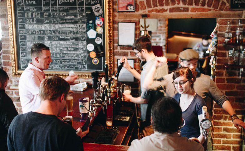 Bar at The Cross Keys