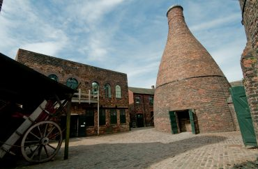 Gladstone Pottery Museum Summer in Stoke on Trent