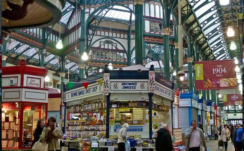 Image result for Kirkgate Market  Leeds
