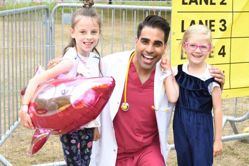 Dr Ranj at BBC Summer Social